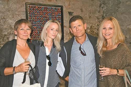 Tina Tomaselli, Lisa Ramsauer, Horst Lumper und Eva Ramsauer. FOTOS: EM