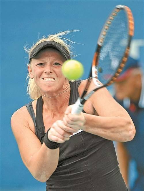 Turniersieg Nummer 16: Patricia Mayr-Achleitner. Foto: ap
