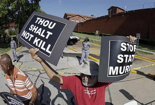Und wieder kannte Texas keine Gnade. Marion Dudley starb am 25. Jänner 2006 durch die Giftspritze. Foto: AP