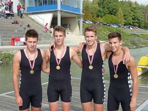 Vincent Thomann, Marc Bösch, Benjamin Becic, Matthias Kuen.