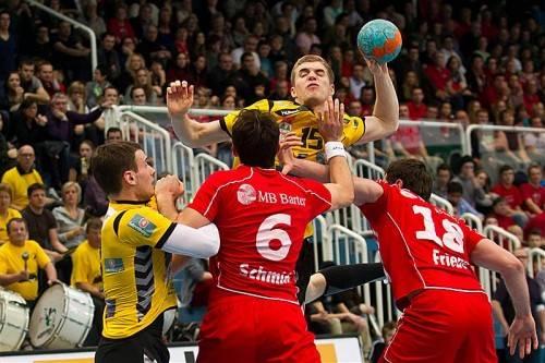 Vorarlbergs Handball-Fans dürfen sich auf jede Menge Action im traditionsreichen Derby zwischen Bregenz und Hard freuen. Foto: gepa