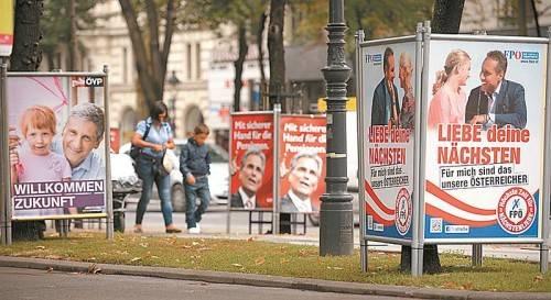 Wahlplakate – nichts als Geldverschwendung? Foto: APA