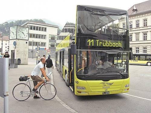 Wenn der Liechtensteinbus tatsächlich aus dem Verkehrsverbund aussteigt, werden grenzüberschreitende Fahrten deutlich teurer.