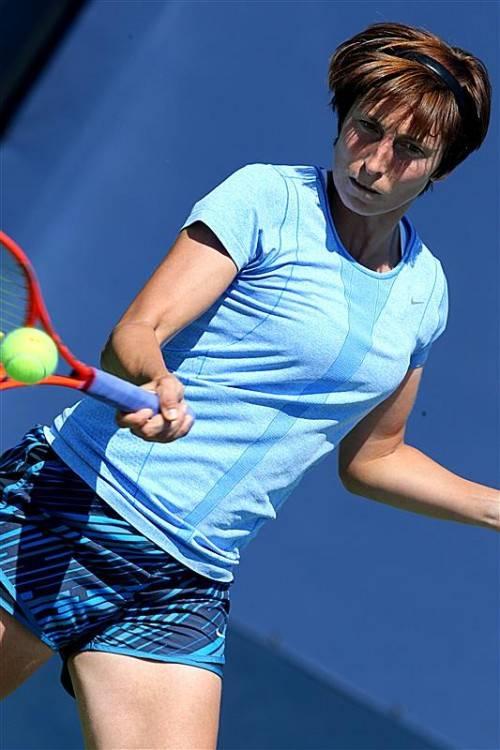 Yvonne Meusburger: Sieg beim Startspiel in Taschkent. Foto: gepa