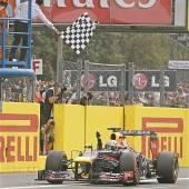 Vettel-Solo in Monza