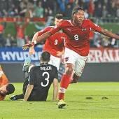 Österreich wahrte die Chance in der WM-Qualifikation