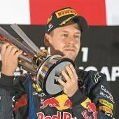 Vettel ist nicht zu stoppen Dritter Sieg in Serie, dem Titel nahe /c1