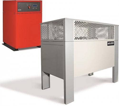 Luftwärmepumpen machen ein Drittel des Geschäfts von Weider aus. Fa