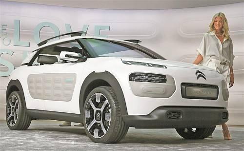 Überflüssiges wird über Bord geworfen, Wohlbefinden siegt: der Citroën Cactus.
