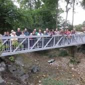 Ruggbachbrücke von Anrainern eingeweiht