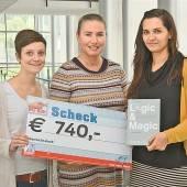 740 Euro für Ma hilft