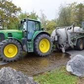 6000 Liter Gülle ausgelaufen