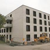 Neues Pflegeheim fast fertig