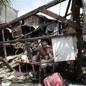 Zyklon Phailin traf Indien mit voller Wucht