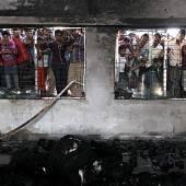 Polizei ermittelt nach Brand in Textilfabrik