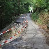 Straße Eschenau wird nach Rutschung saniert