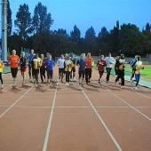 Hochkarätige Gäste beim Training