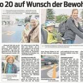Probe-Begegnungszone in Bregenz- Mariahilf – und was davon blieb