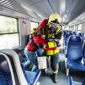 Gefahrengutübung – Einsatzkräfte probten am Bahnhof Feldkirch für den Ernstfall