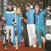 Der Skiverband kleidete 344 Wintersportler ein