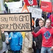 Proteste gegen Monsanto und Gentechnik