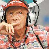 Standpauke von Niki Lauda