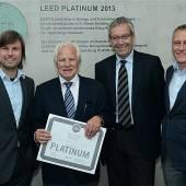 LEED-Zertifikat für i+R Schertler