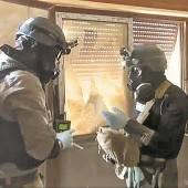 Friedensnobelpreis für Giftgas-Inspektoren
