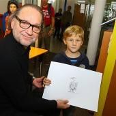 Ab jetzt gilts: Silvio Raos lädt junge Karikaturisten ein