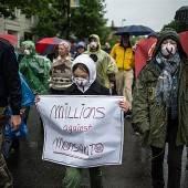 Protestmarsch gegen Monsanto in Bregenz