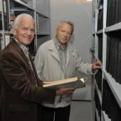 Gemeindeexperten als Archivare in Lauterach