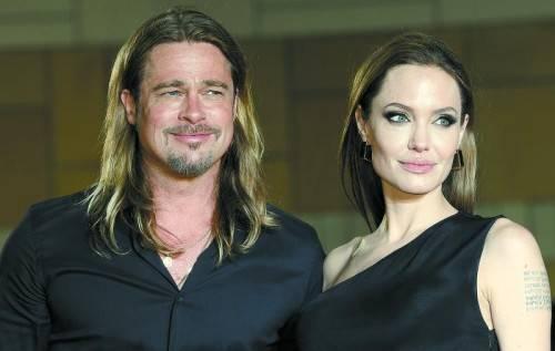 Angelina Jolie hatte sich anfangs geweigert, einen Ehevertrag zu unterschreiben, doch jetzt konnte Brad Pitt sie überzeugen. Foto: epa