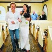 Bon Jovi führte Fan zum Altar