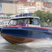 Polizeiboot nach Unfall gesunken