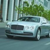Ein Bentley zeigt Wucht und Würde