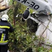 Cessna im dichten Nebel bei Krems abgestürzt