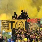 Böller und Randale stören deutschen Fußball-Frieden