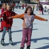 Saisonbeginn auf der Eisbahn in Hohenems