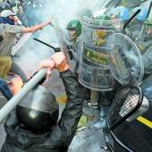 Proteste gegen Sparpolitik