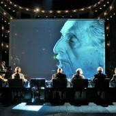 Holocaust-Überlebende im Burgtheater