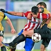 Austria Wien im CL-Heimspiel gegen Atlético Madrid chancenlos