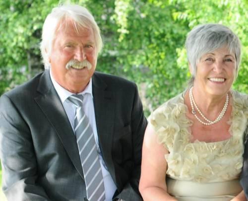 Ein Ehepaar mit viel Charme.