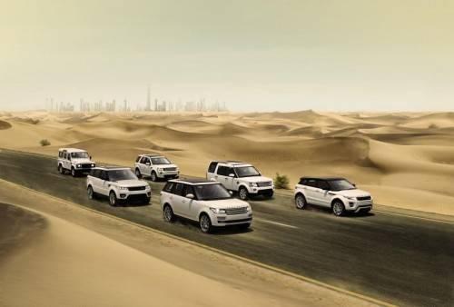 Erfolgreiche Modell-Familie: Land Rover hat heuer 255.174 Fahrzeuge weltweit abgesetzt (plus zwölf Prozent). Foto: werk