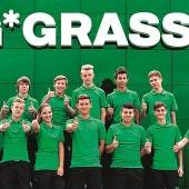 Zwölf Lehrlinge starten bei Grass durch