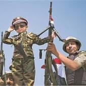 Ägyptische Armee feiert 40. Jahrestag des Angriffs auf Israel
