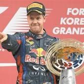 Vettel ist Titel vier nahe