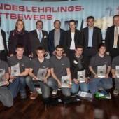 Vorarlberger Metalltechniker räumten bei Wettbewerb ab