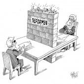 Verhandlungen auf Augenhöhe!