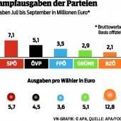 40 Euro für jeden Stronach-Wähler