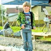 Platz für Kinder Naturspielpark neu in Lustenau /A10